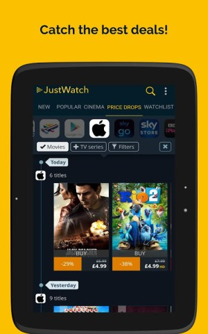 JustWatch - Search Engine for Streaming and Cinema 2.5.13 Screen 14