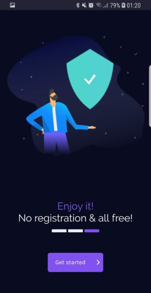 Free VPN unlimited secure hotspot proxy by vpnify 1.6.0 Screen 5
