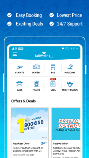 EaseMyTrip – Cheap Flights, Hotels, Bus & Holidays 3.10.2 Screen 4