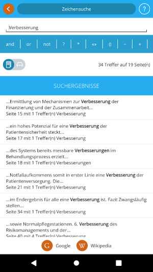 KU Gesundheitsmanagement 4.3.0 Screen 1