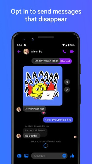 Messenger – Text and Video Chat for Free 333.0.0.0.56 Screen 5