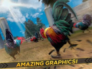 Wild Rooster Run - Frenzy Chicken Farm Race 2.11.9 Screen 4