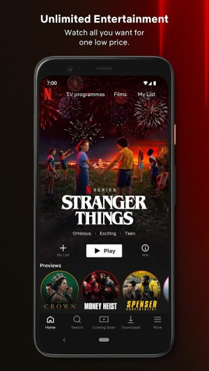 Netflix 7.74.1 build 26 35115 Screen 2