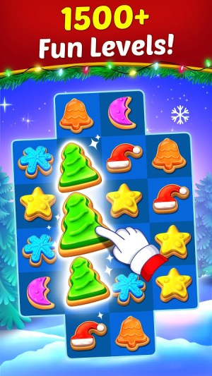 Christmas Cookie - Santa Claus's Match 3 Adventure 3.1.0 Screen 5