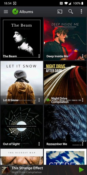 PlayerPro Music Player 5.21 Screen 1
