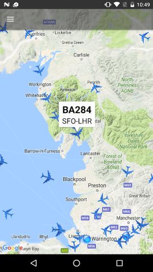Air Traffic - flight tracker 7.1 Screen 1