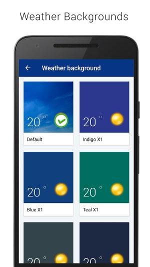 Transparent clock weather (Ad-free) 3.00.06 Screen 2