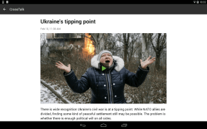 RT News (Russia Today) 3.4.9 Screen 7