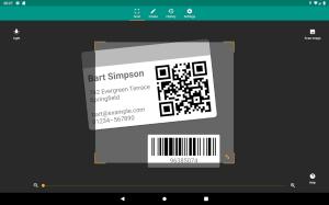 QR & Barcode Reader 2.6.9-L Screen 10