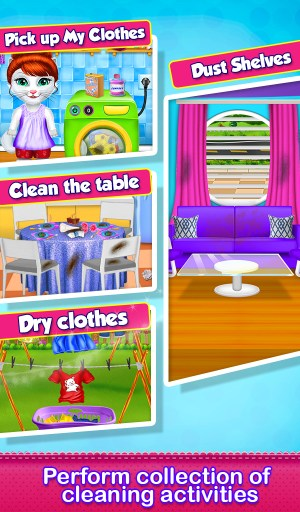 Kitty Daily Activities Game 1.0.1 Screen 3