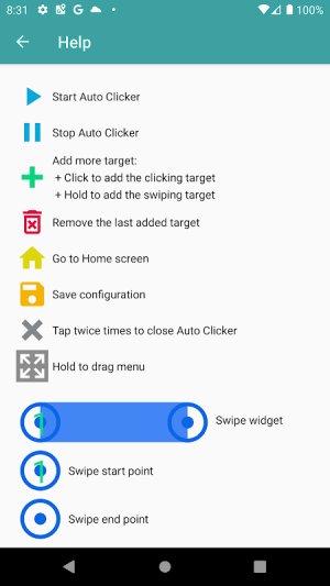 Auto Clicker 1.5.2 Screen 7