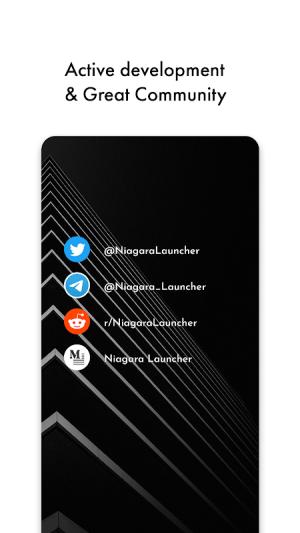 Niagara Launcher 🔹 fresh & clean 0.32.4 Screen 2