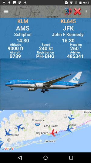 Air Traffic - flight tracker 7.1 Screen 4