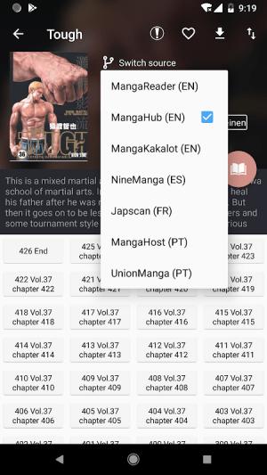 Manga Geek - Free Manga Reader App 1.2.0.9 Screen 3