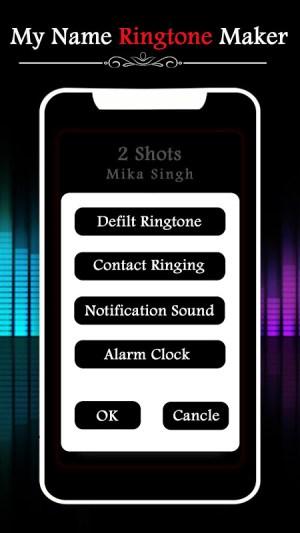 My Name Ringtone Maker 1.3 Screen 1