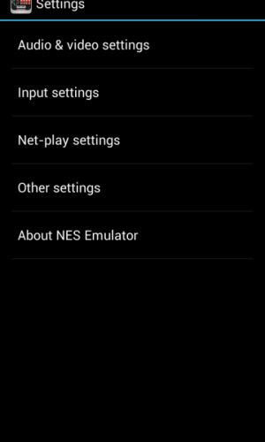 NES Emulator 1.0.1 Screen 1