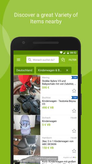 eBay Kleinanzeigen for Germany 9.7.0 Screen 1