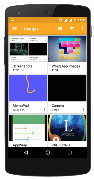 Android File Explorer Screen 5