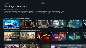 Android Prime Video - Android TV Screen 4