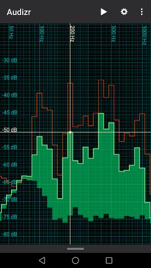Audizr - Spectrum Analyzer 0.9.8 Screen 8