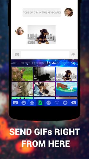 Cute Emoji Keyboard Premium - GIF, Emoticons 1.5.4.0 Screen 4