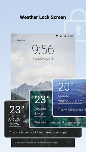Android Weather Forecast - World Weather Accurate Radar Screen 7