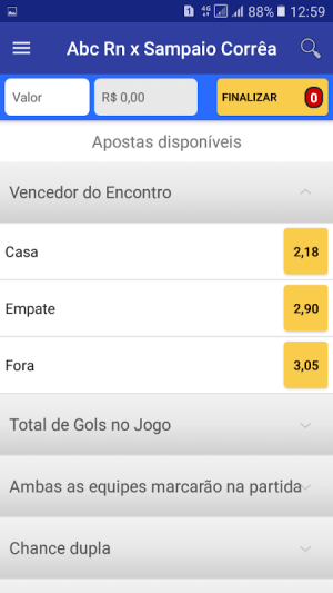 SA Esportes 4.6.1.3 Screen 4