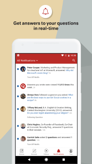 Quora 2.7.5 Screen 4
