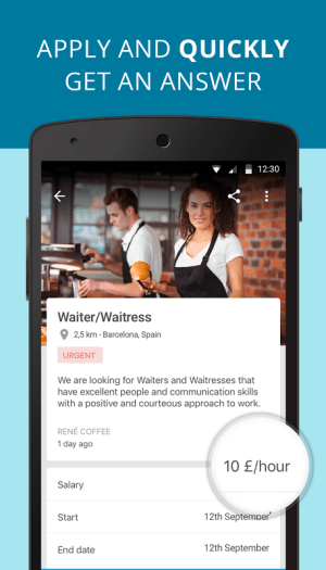 CornerJob - Job offers, Recruitment, Job Search 1.5 Screen 2