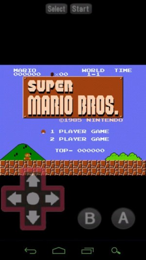 Android Perfect NES Emulator Pro Screen 1