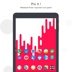 Pix it - Icon Pack 7.0 Screen 8