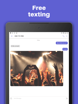 Text Free: Free Text Plus Call 8.55 Screen 6