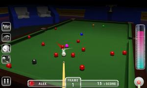Android Snooker Knockout Tournament Screen 3