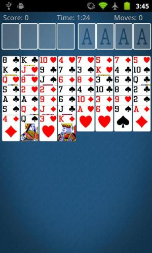 FreeCell Solitaire 2.2.2 Screen 2