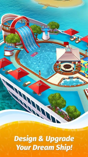 Android The Love Boat: Puzzle Cruise – Your Match 3 Crush! Screen 12