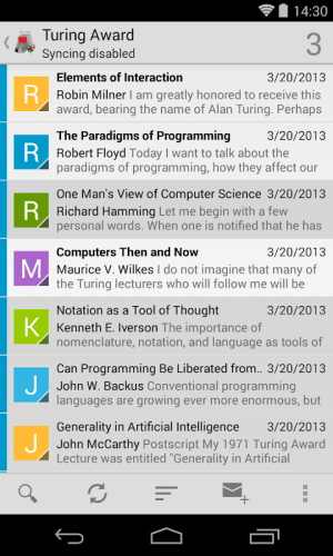 K-9 Mail 5.705 Screen 2