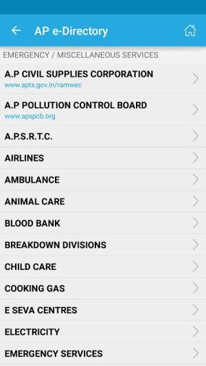 AP e-Directory 1.1.3 Screen 4