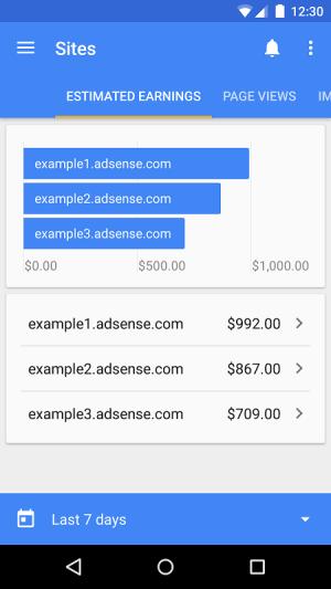 Google AdSense 3.3 Screen 1