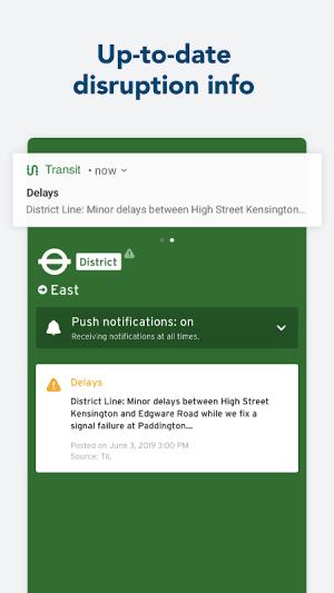 Transit • Live Bus & Tube Transport Times 5.7.4 Screen 4