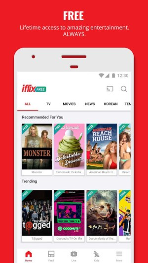 iflix 3.26.0-16428 Screen 2