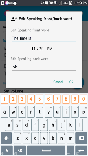 Hourly Talking Alarm Clock  Reminder Lite 2.9.8 Screen 3