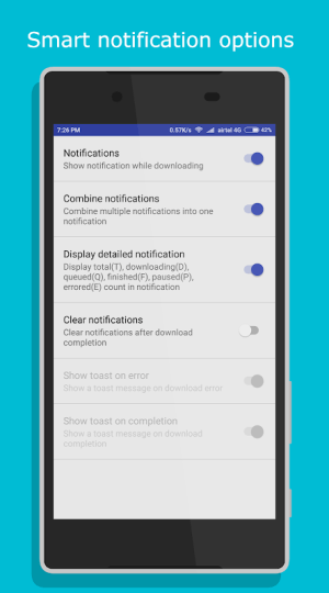 Android IDM+: Fastest Music, Video, Torrent Downloader Screen 15