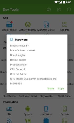 Dev Tools(Android Developer Tools) 3.1.2 Screen 7
