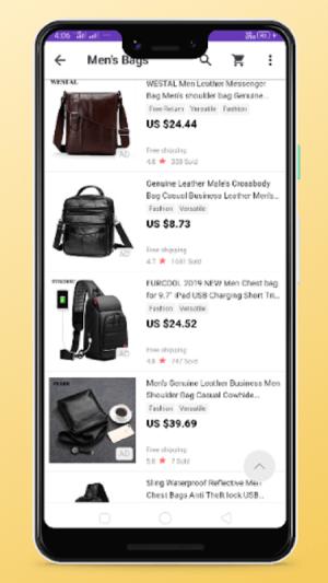 men bags shopping 4.0 Screen 1