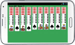 Spider Solitaire Free Game 6.0 Screen 5