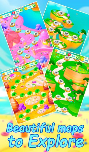 Android Candy Land Road Screen 3