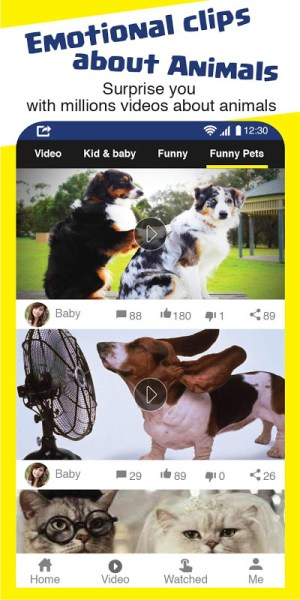 Android TopViral: top viral videos and Funny GIFs Screen 1