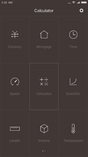 Mi Calculator 10.0.20 Screen 2