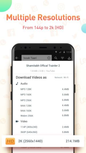Youtube Video Downloader - SnapTube Pro 4.38.0.21 Screen 2