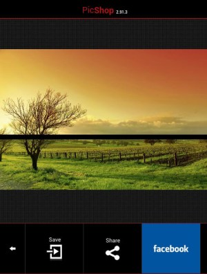 Android PicShop Lite - Photo Editor Screen 6